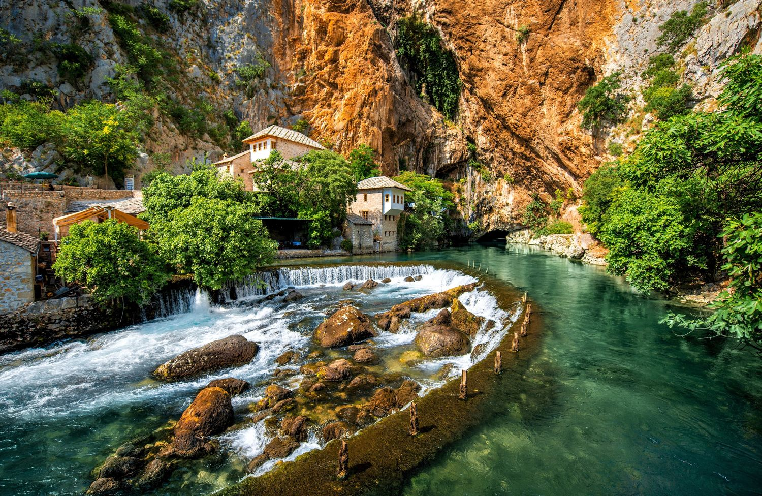 Vrelo Bune: A Perfect Mixture of Nature, History, and Architecture in Bosnia and Herzegovina
