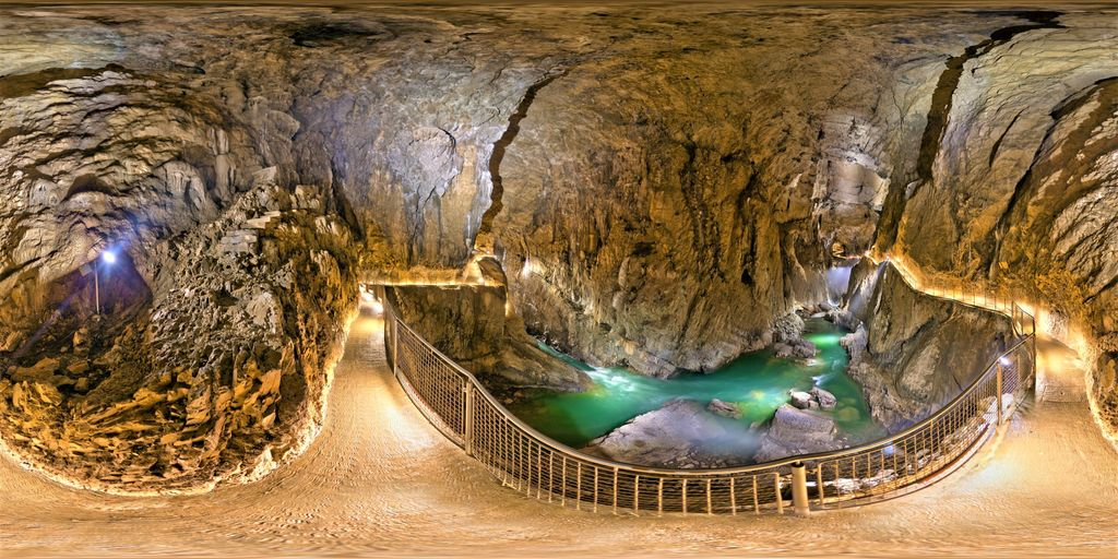 Explore the Passages and Chambers of Skocjan Caves, Slovenia